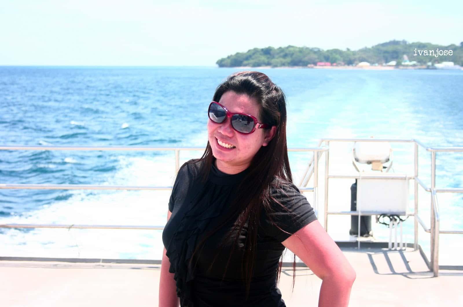 Leaving Grande Island Resort
