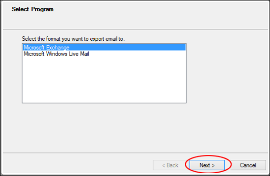 Import Outlook Express DBX files to Gmail using Gammo Tool
