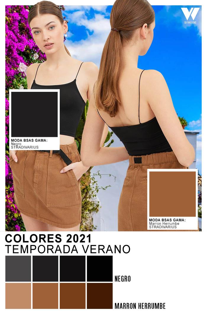 Moda colores verano 2021 Moda juvenil verano 2021 colores
