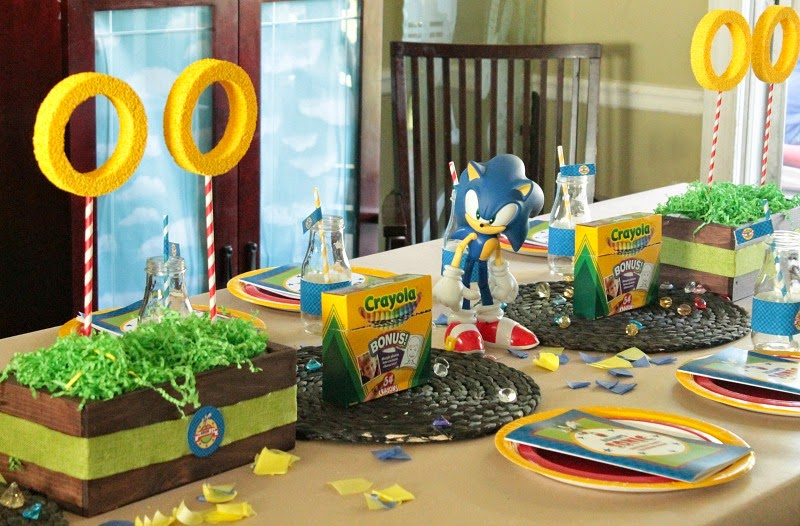 Sonic the hedgehog party theme, sonic the hedgehog party for a boy, six year old party ideas