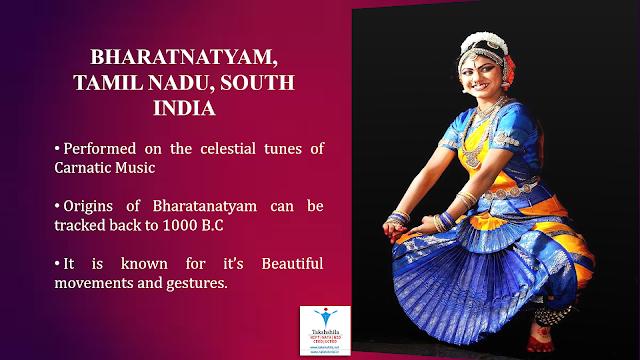 Types Of Indian Dance- Bharatnatyam