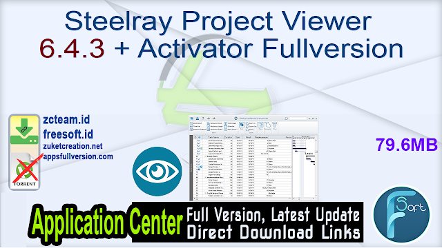 Steelray Project Viewer 6.4.3 + Activator Fullversion