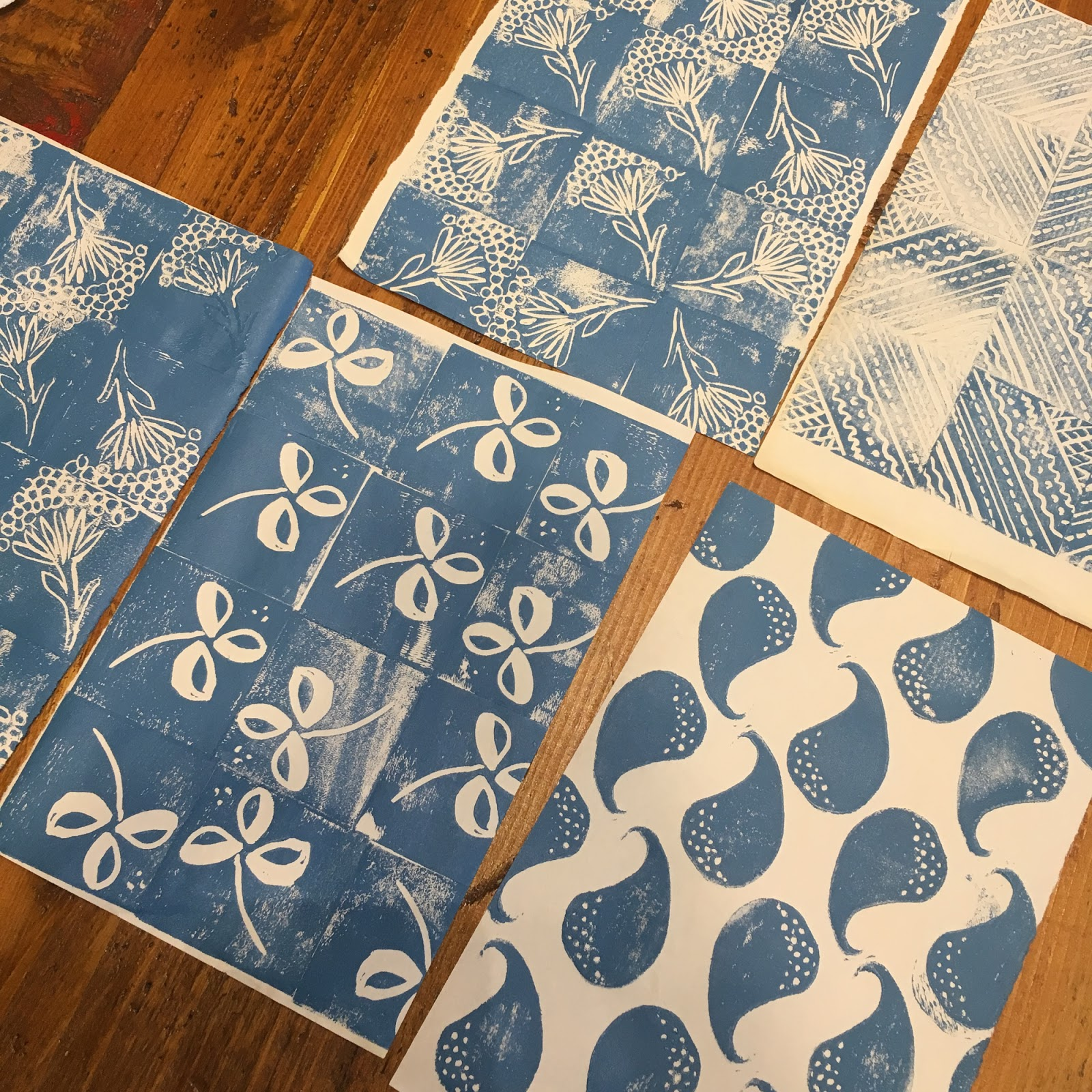 On Birth And Lino Cutting Flossie Teacakes Bloglovin