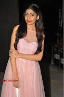 Actress Nidhisha Reddy Pos in Beautiful Pink Dress at Virus Telugu Movie Audio Launch .COM 0049.JPG