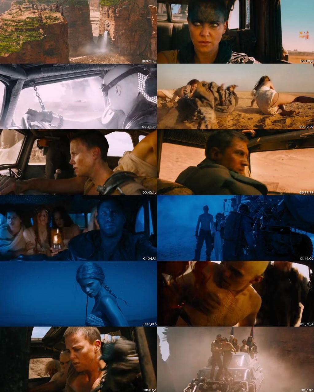 Mad Max: Fury Road 2015 BRRip 480p 300Mb [Hindi-English]