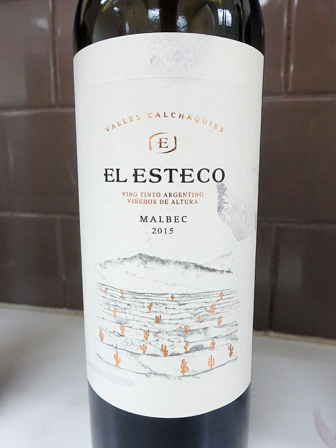 El Esteco Malbec 2015 (91 pts)