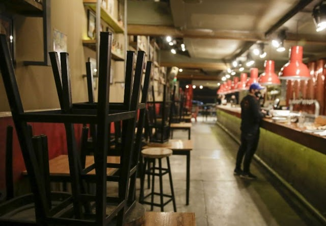 Suspenden actividades en bares de Tijuana por no contar con giro de restaurante
