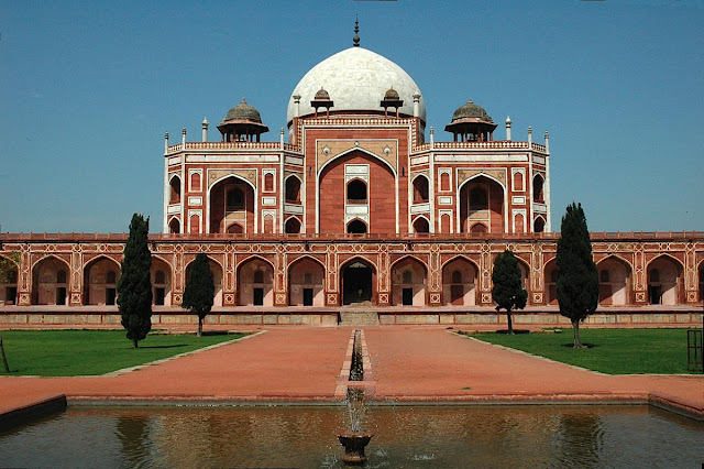Humayun's tomb - one of the best preserved Mughal monuments