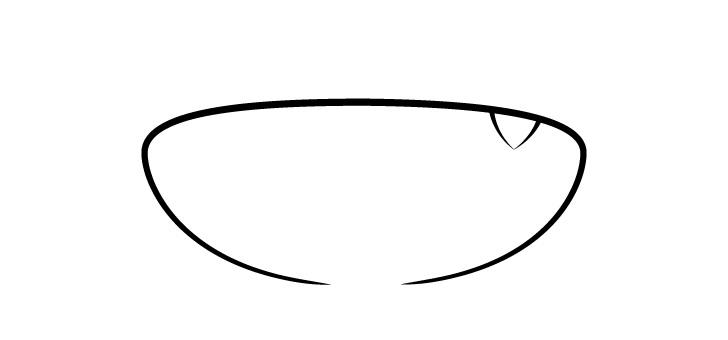 Anime satu gigi mencuat gambar mulut