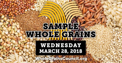 Whole Grains Sampling Day