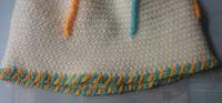 Twisted hat. Free crochet pattern.