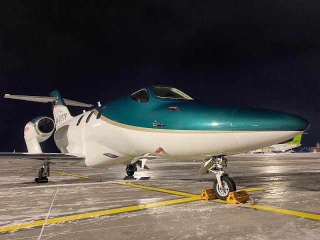 pesawat jet honda