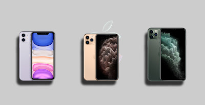 iPhone 11 Pro & iPhone 11 Pro Max Mobile Phone Image