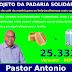 Candidato a vereador Pastor Antônio lança o projeto da Padaria Solidária em Belo Jardim