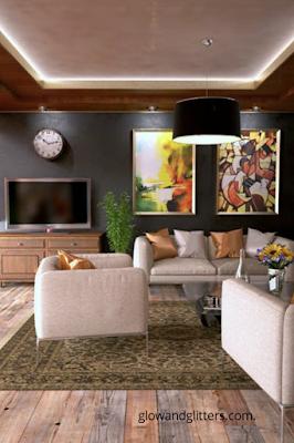 Living room decor/ home decor