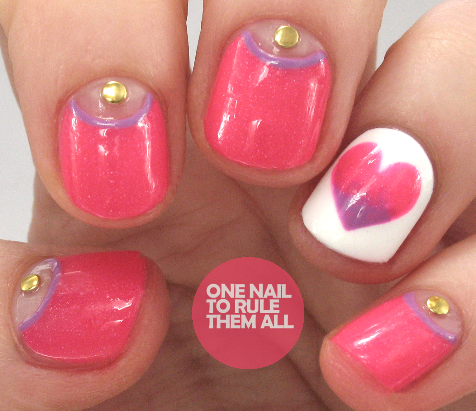 One Nail To Rule Them All: Nail Art Threesome, Brit Nails