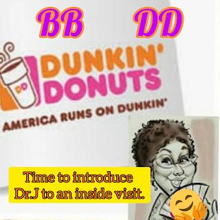 Dunkin Donuts visit