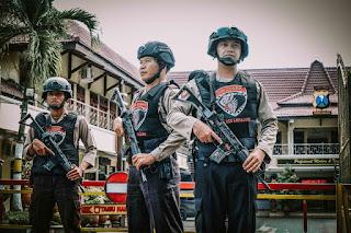 Teror Bom Bunuh Diri di Polrestabes Medan, Polres Lumajang Perketat Penjagaan di Semua Pos-Pos Polisi