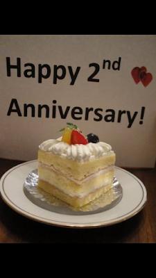 Cake 2nd Anniversary