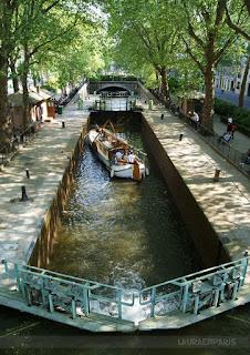 Canal Saint-Martin, Paris © Laura Próspero