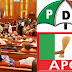 Securities lay siege at the house of Saraki as 15 APC Senators defect to PDP