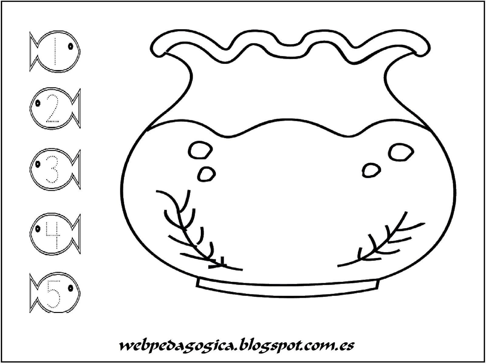 Dibujos De Peces Para Imprimir Y Colorear: Imagenes De Peces Para Colorear