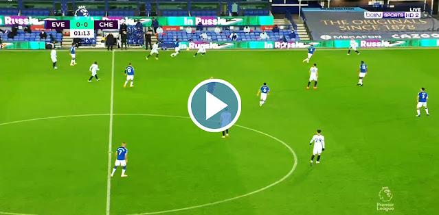 Everton vs Chelsea Live Score