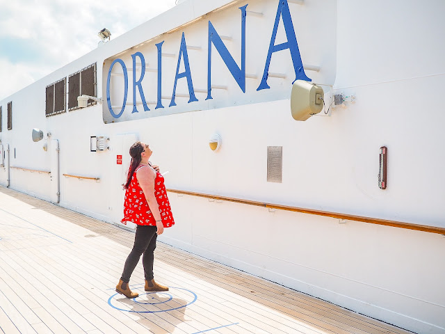 Life of a Travel Blogger 2010-2020 P&O Oriana