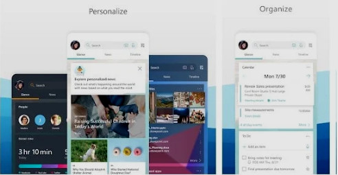 صورة لانشر Microsoft Launcher