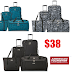 4 Piece American Tourister (Samsonite Company) Riverbend Luggage Set Only $38.07 + Free Shipping