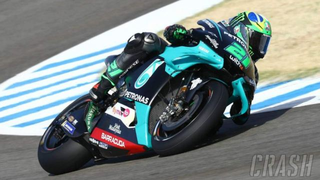 Morbidelli Tercepat FP3 MotoGP Ceko, Rossi P5