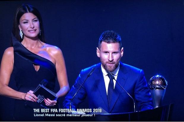 The Best FIFA: Lionel Messi sacré meilleur joueur FIFA 2019