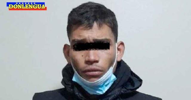 Atracador venezolano robó a una estudiante y atropelló a un joven en Perú