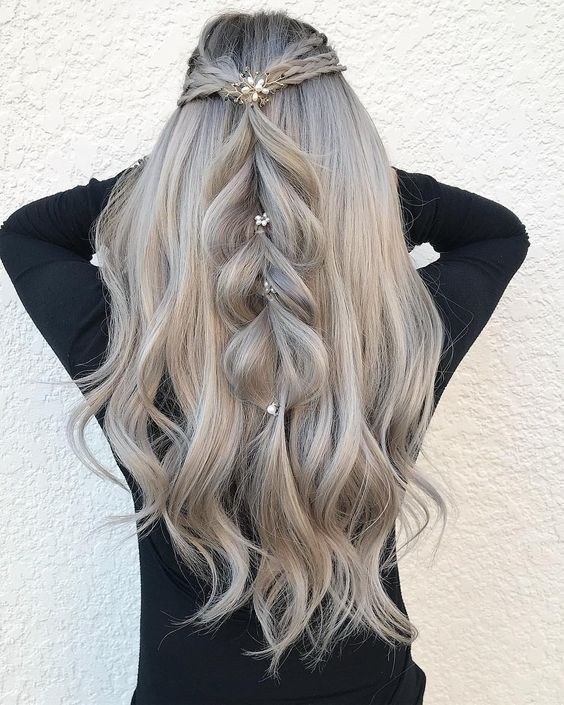 fabulous hairstyles for long haired girls
