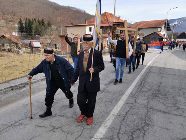 I danas održane litije u više crnogorskih gradova