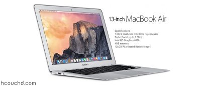 حاسوب Apple MacBook Air MJVE2LL/A