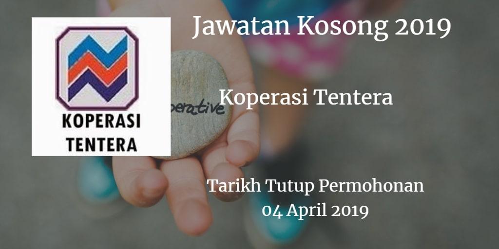 Jawatan Kosong Koperasi Tentera 04 April 2019