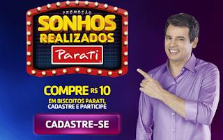 Promoção Biscoitos Parati 2019 com Celso Portiolli