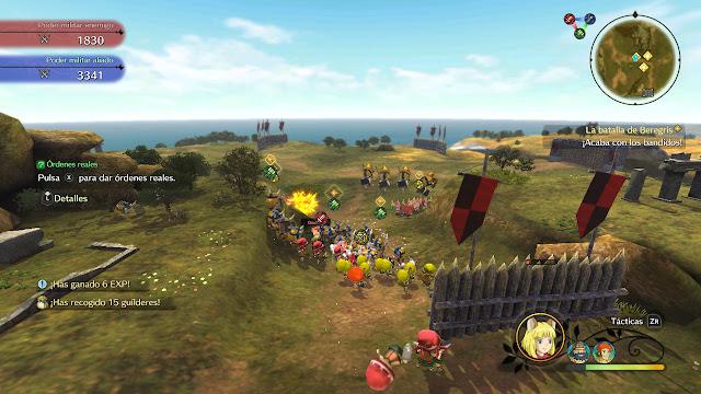 Ni No Kuni II: El Renacer de un Reino Prince´s Edition - Batallón