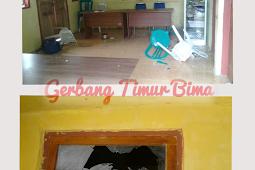 Tidak Puas Dengan Pembagian Bibit Sapi Kantor Desa Diha Porak Poranda