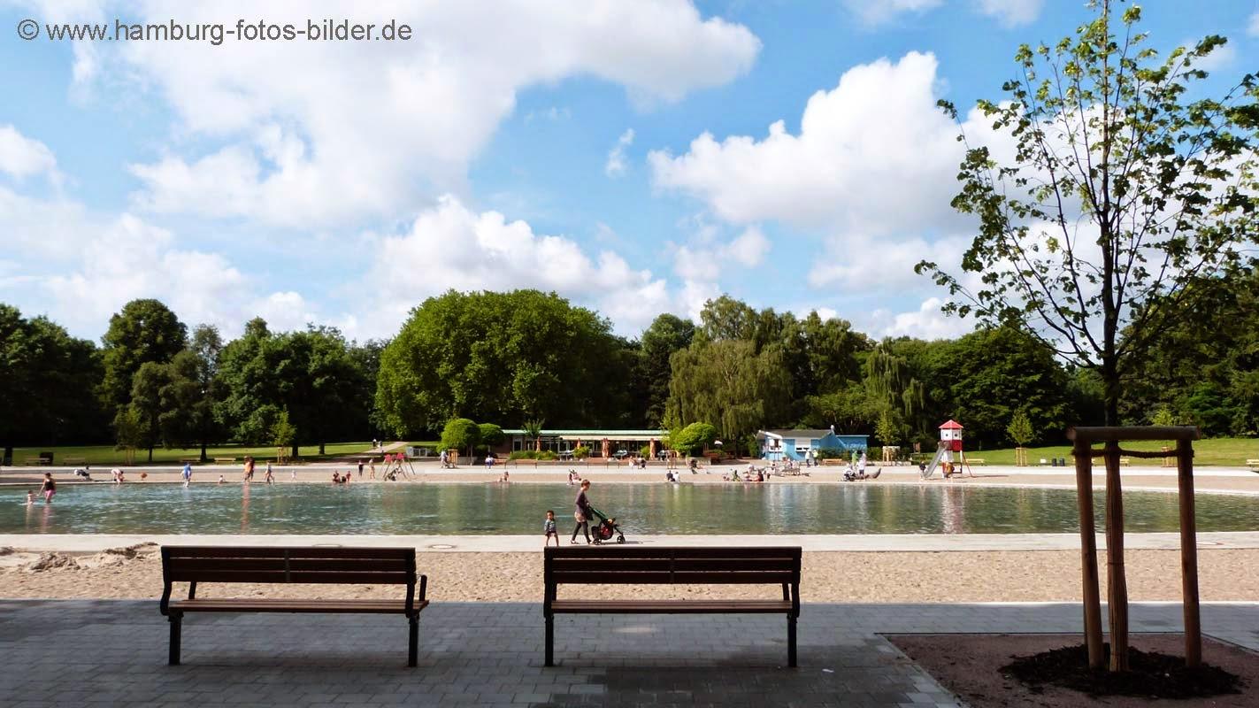 Stadtpark Hamburg, Café am Planschbecken und Kiosk