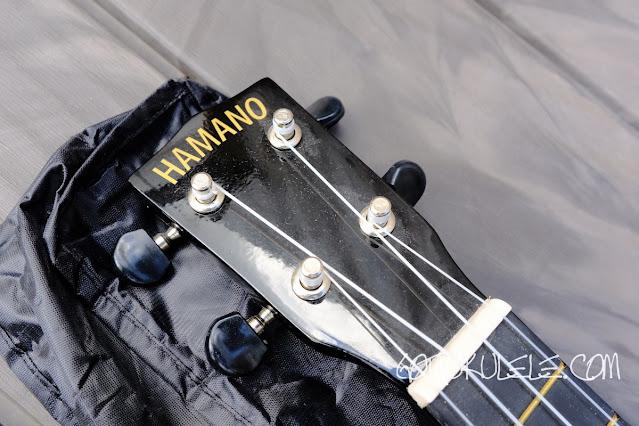 Hamano U30 Soprano Ukulele headstock