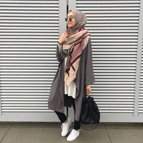 Cara Memakai Jilbab Paris | Video Hijab Tutorial: sporty hijab chic ...