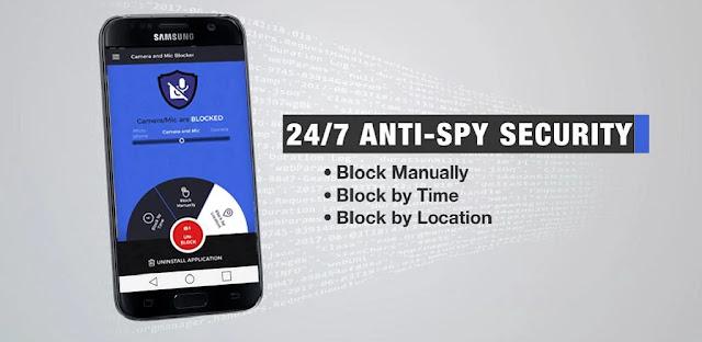 قم بتنزيل Camera and Microphone Blocker 1.10 - تطبيق لمنع الوصول إلى الكاميرا والميكروفون لنظام الاندرويد