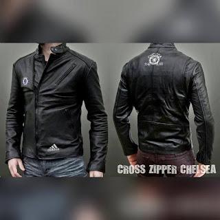 Jaket kulit chelsea
