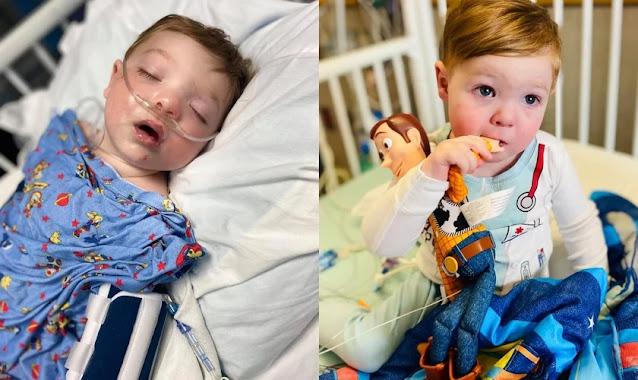 """""""O tempo de Deus é sempre certo"""": bebê que fez 5 cirurgias no coração recebe transplante"""