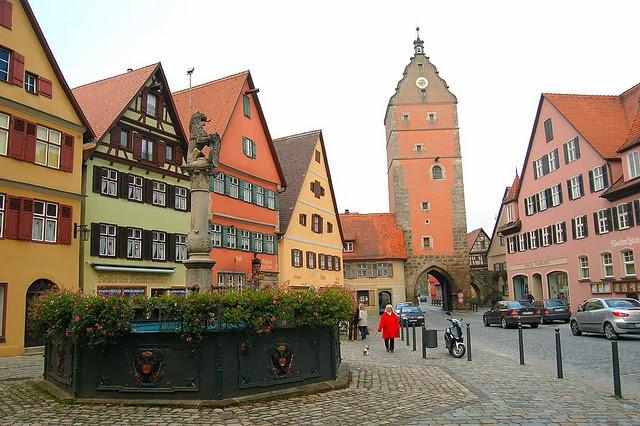 Dinkelsbühl en Alemania