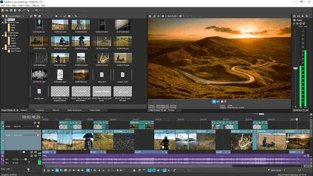 Screenshot MAGIX VEGAS Pro 17.0.0.321 Full Version