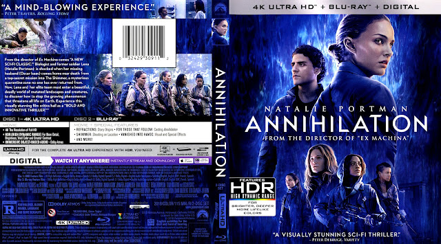 Annihilation (scan) 4k Bluray Cover