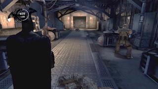 Batman Arkham Asylum Third Person Shoulder View